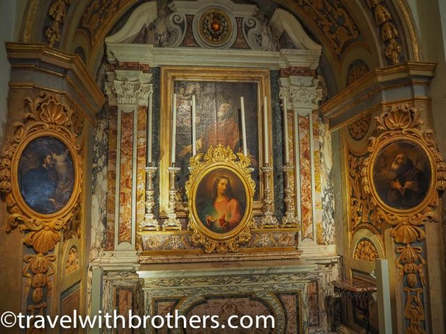 Altar of St Philip Neri