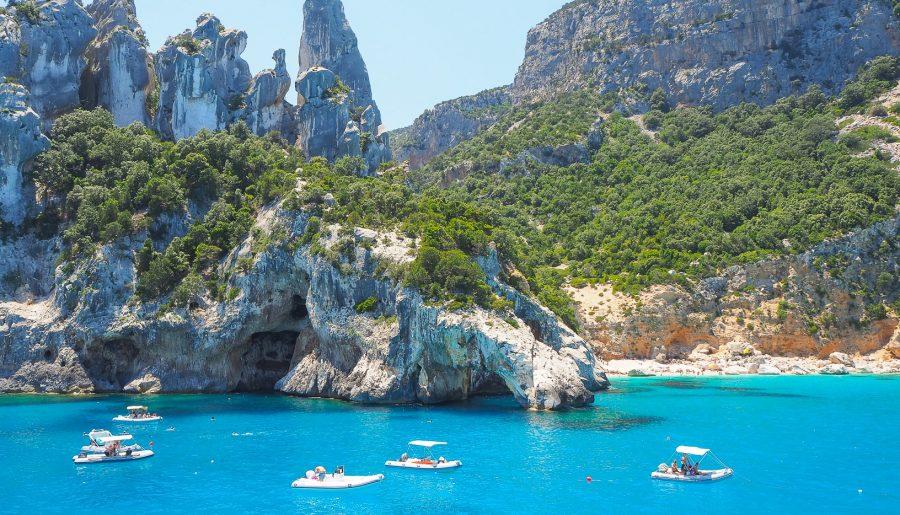 Italy, Sardinia: the wonderful wild beaches of the Orosei Gulf