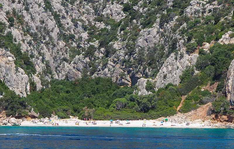 Sardinia, Cala Fuili
