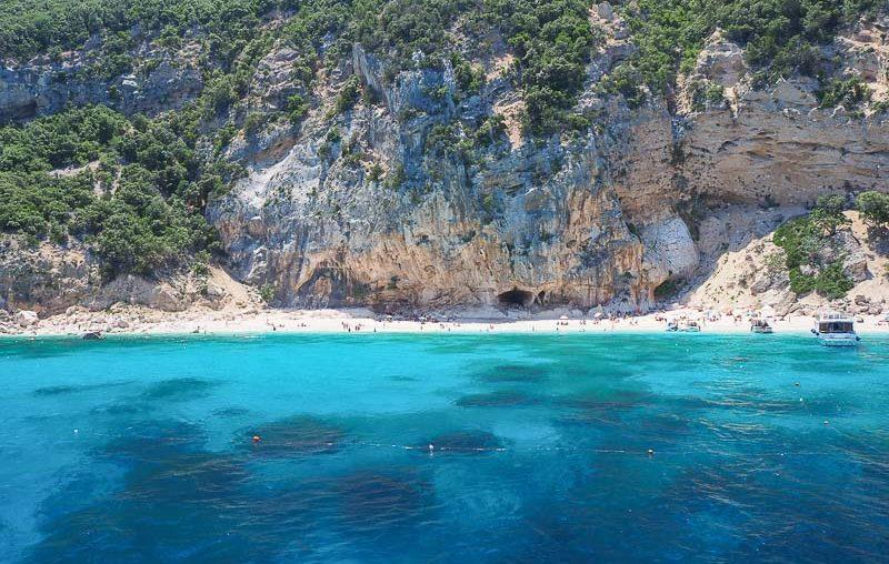 Sardinia, Cala Gabbiani