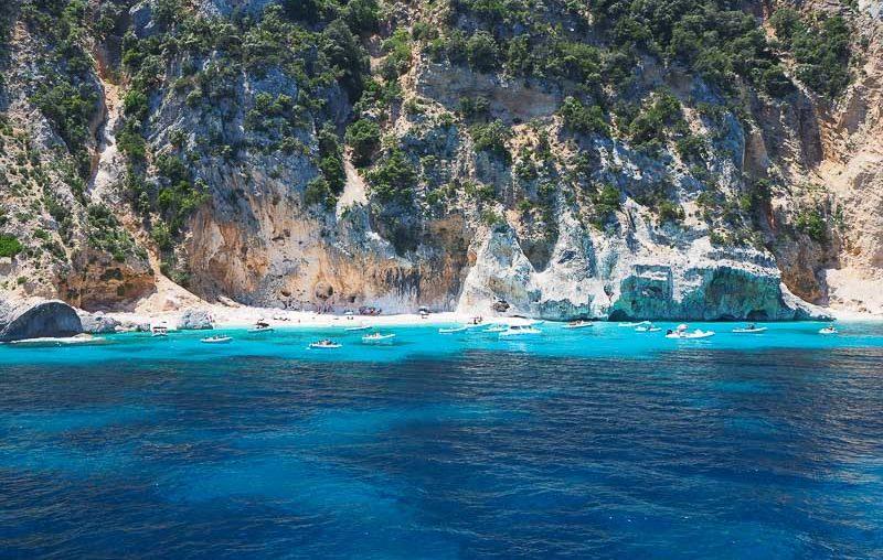 Sardinia, Spiaggia delle Sorgenti di Goloritzè