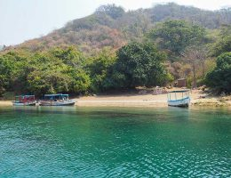 Thumbi Island beach, Lake Malawi