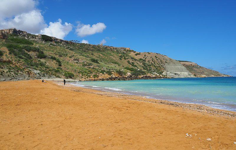 Gozo island, Ramla Bay