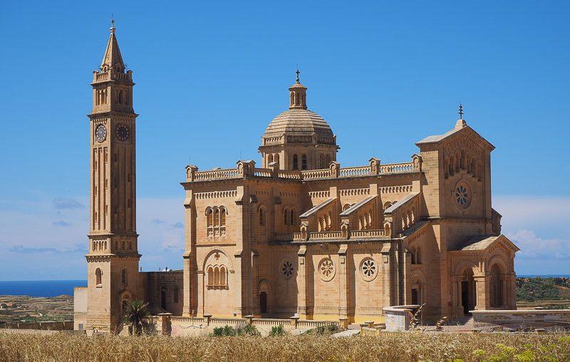 Gozo island, Ta Pinu church