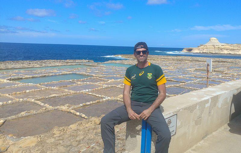 Gozo island, salt pans