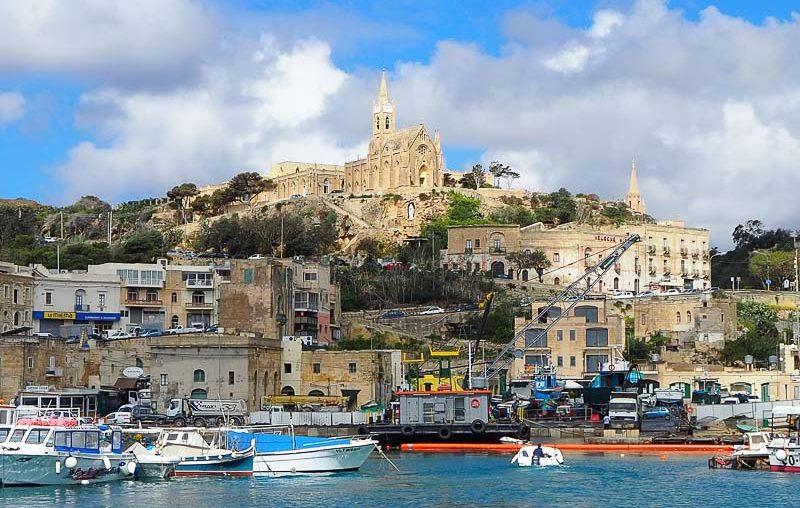 Gozo island, Mgarr harbour