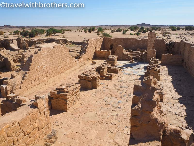Sudan, the remains of Ghazali monastery