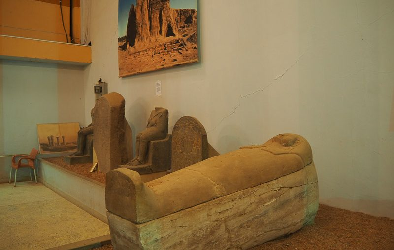Khartoum, archaeological finds on display at National Museum