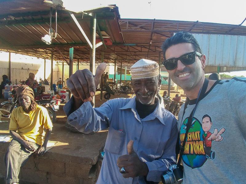 Khartoum fish market