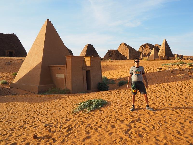 Sudan, Meroe Necropolis