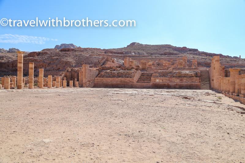 Petra, le rovine del Great Temple