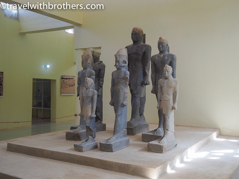 Kerma, the statues in the museum