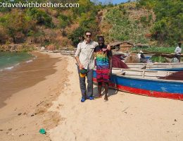 Nkhata Bay, the fishers village of Lusukwe
