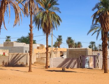 Sudan, Nubian village