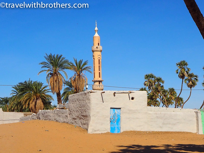 Nubian village, a mosque