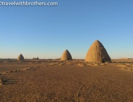 Old Dongola, the qubba tombs