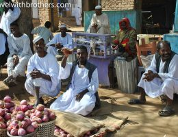Shendi market