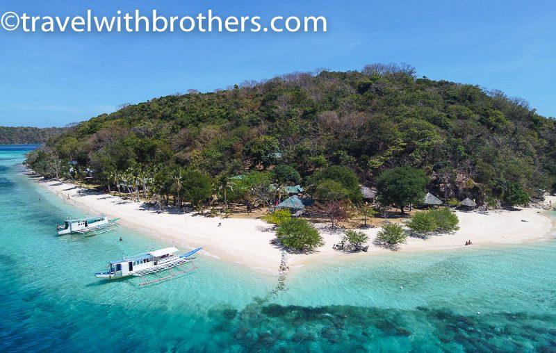 Coron, Banana island beach