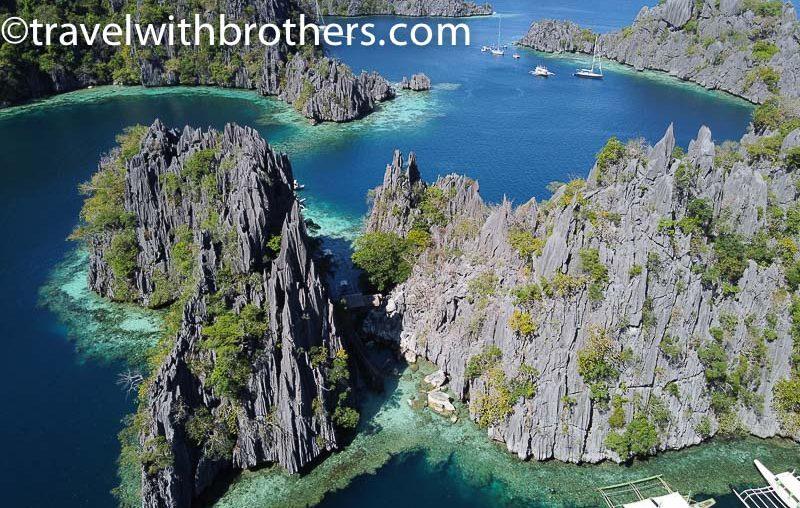 Coron, stunning limestone cliffs