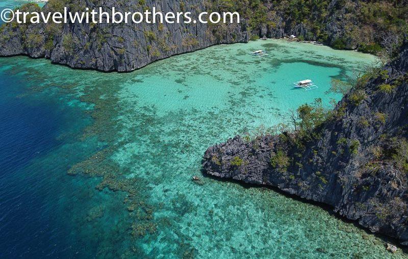 Coron, a lagoon in Coron Island