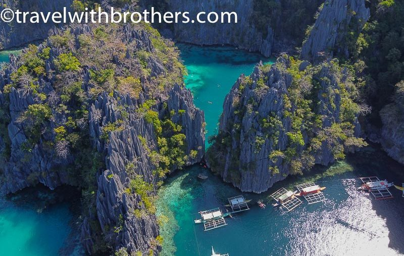 Coron, the Twin lagoon