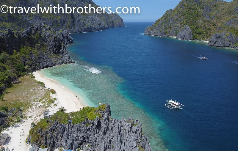 El Nido, star beach on Tapiutan island