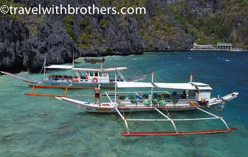 El Nido, the boat for our trip