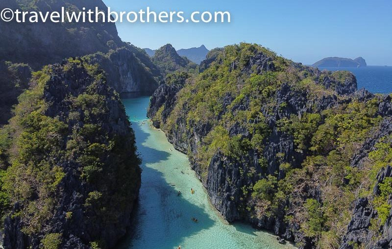 El Nido, the scenic entrance to the Big Lagoon