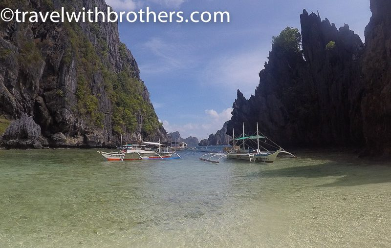 El Nido, the entrance to the Hidden beach