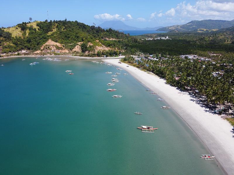 San Vicente palawan, alimanguan beach