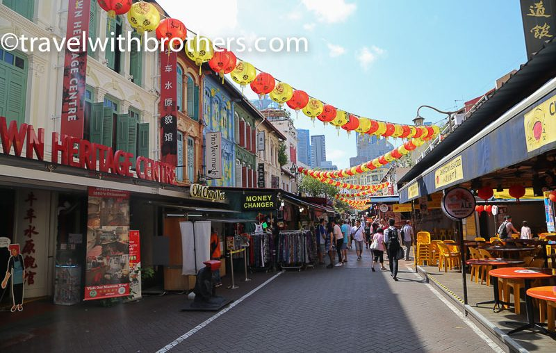 Singapore, a street in Chinatown