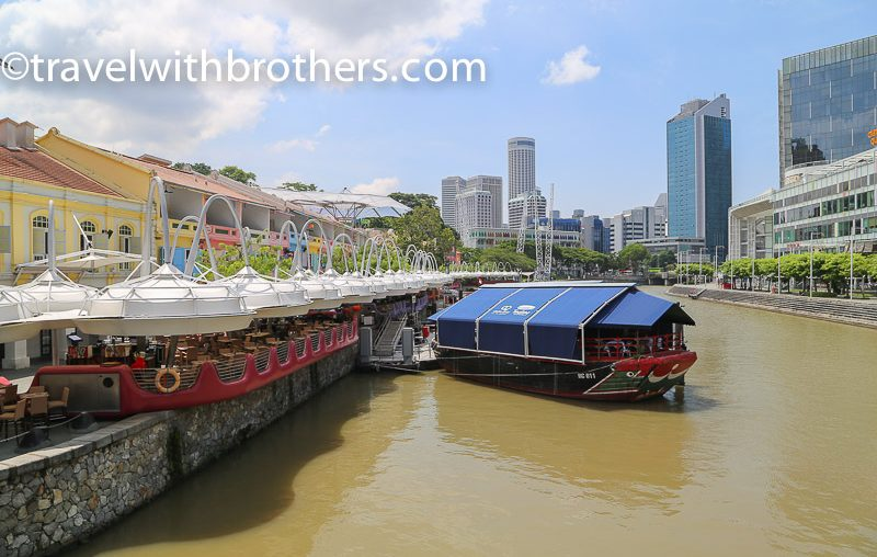 Singapore, bars and restaurants in Clarke Quay