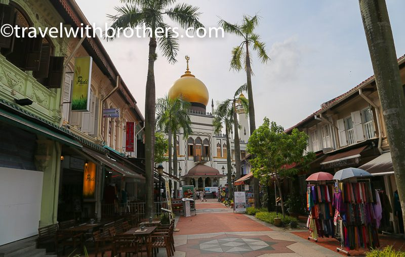 Singapore, the Sultan Mosque in Kampong Glam