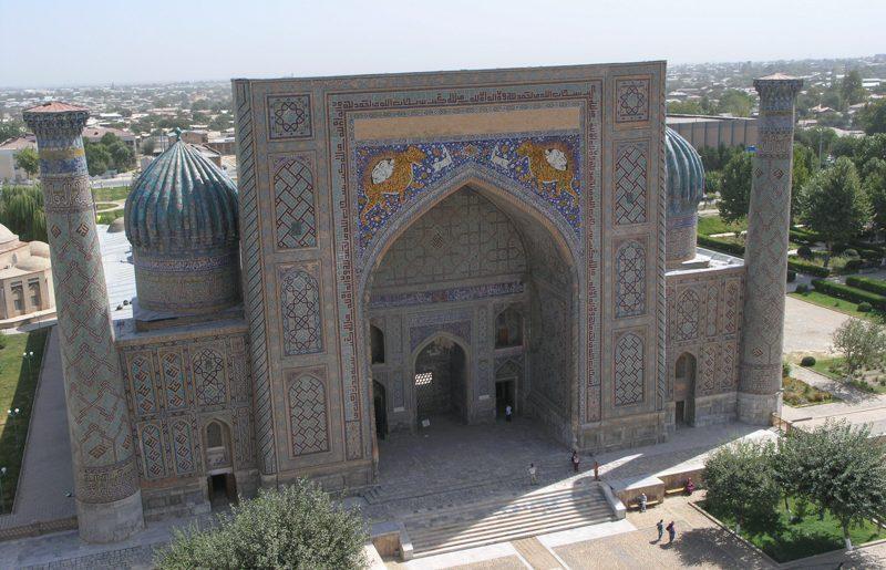 Uzbekistan, the wonderful Registan square in Samarkand