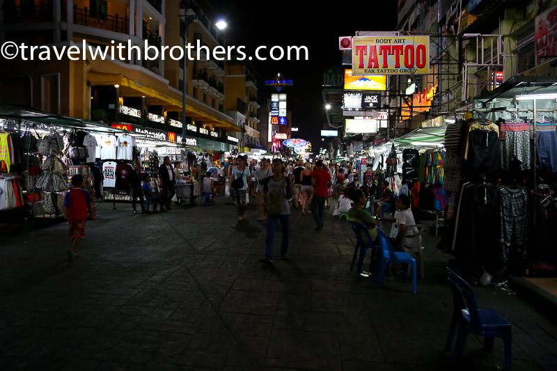 Bangkok, Khaosan road