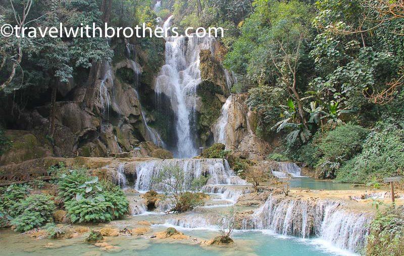 Luang Prabang, Kuang Si main waterfall