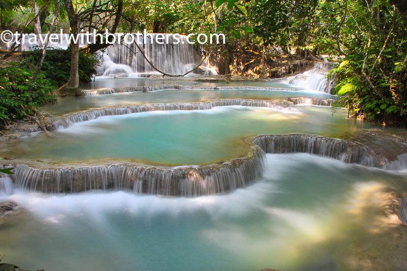 Luang Prabang, Kuang Si waterfall