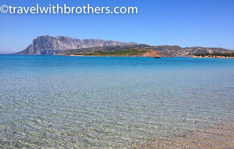San Teodoro, the stunning view from Punta Est beach