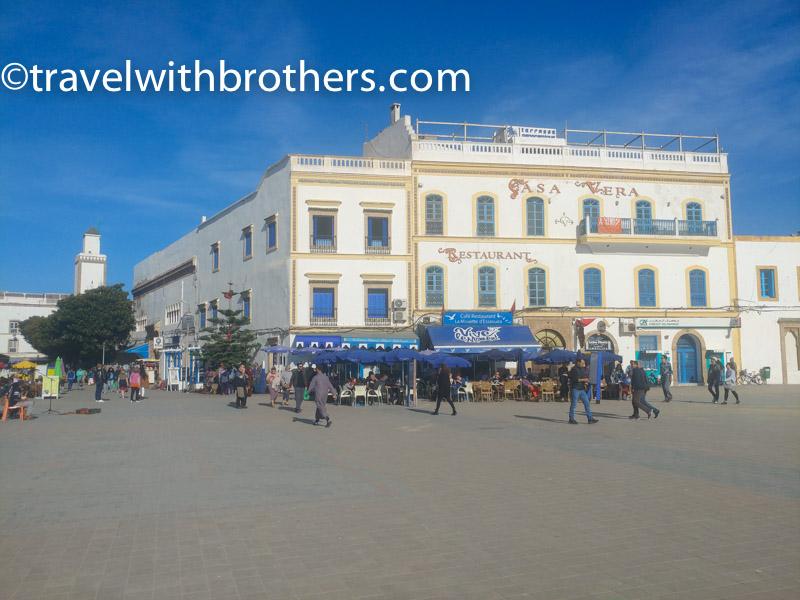 Essaouira, piazza Moulay El Hassan