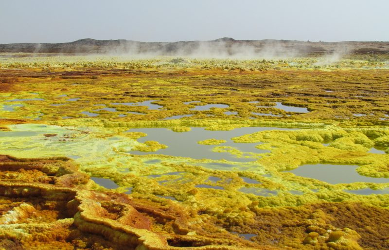 Ethiopia, Dallol, the hill of the spirits