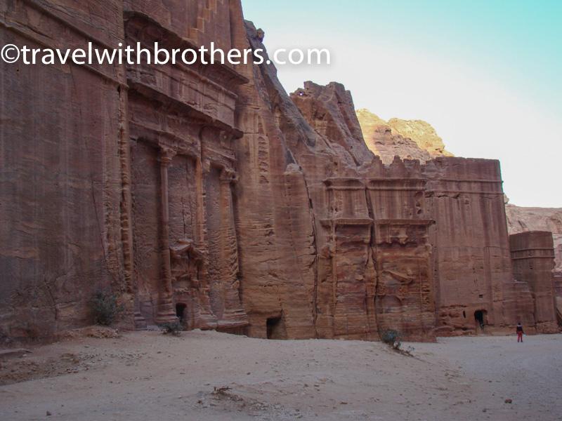 Petra, the Street of Facades