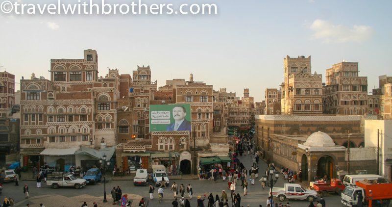 la città vecchia di Sana'a
