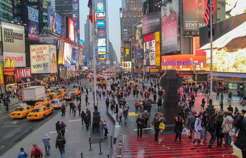 Usa, New York City: alla scoperta di Times Square