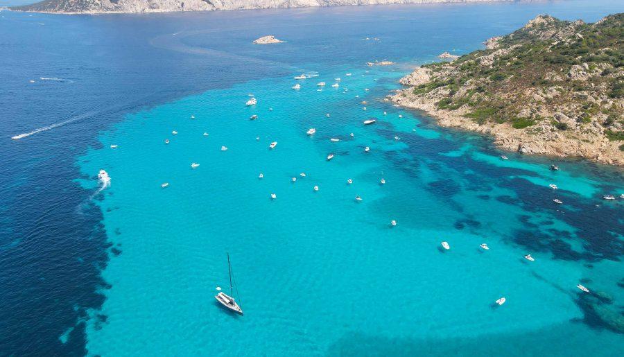 Italy, Sardinia: the Protected Marine Area of Tavolara