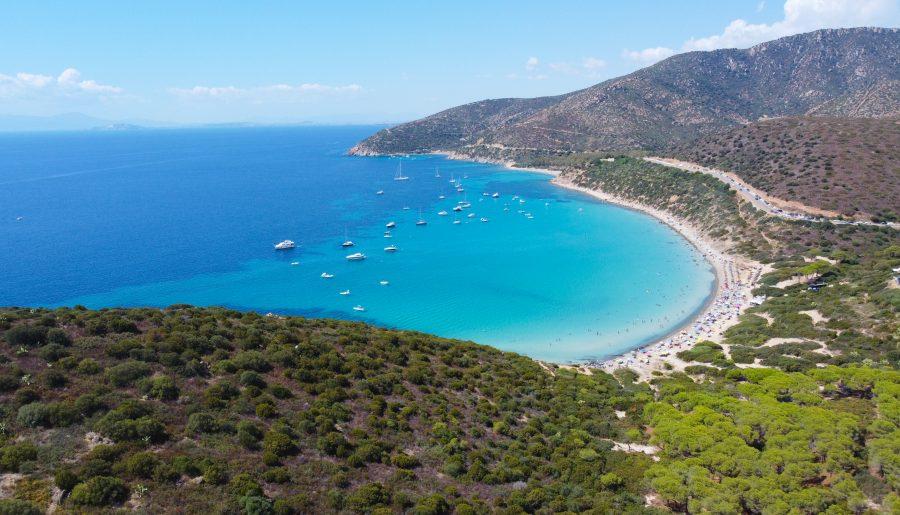 Sardegna, la spiaggia di Mari Pintau